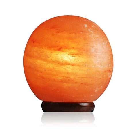 Himalayan Salt Lamp Globe - Intrepid Soul
