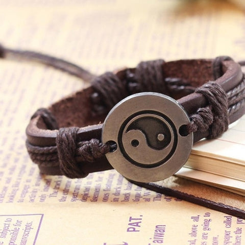 Image of New Style Tai Chi Ying Yang Bracelet Men Women - Intrepid Soul