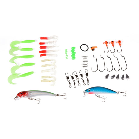 Telescopic Combo Ice Fishing Rods + Closed Fishing Reel Lure Pesca Fishing Tackle Set