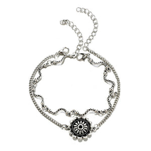 Beautiful Flower Anklet