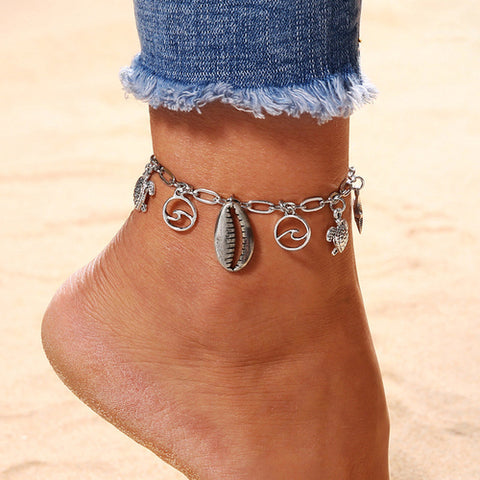 Image of Chain Anklet  Beach Style - Intrepid Soul