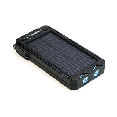 Image of Solar Power Bank 15000mAh Phone External Battery Solar Charger Solar Powerbank with Electronic Cigarette Lighter Power Bank - Intrepid Soul