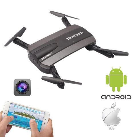 RC Drone WIFI FPV Helicopter HD 0.3MP Camera 2.4G Mini Remote Control Quadcopter One-Key-Return & Headless Model Electronic Toy - Intrepid Soul