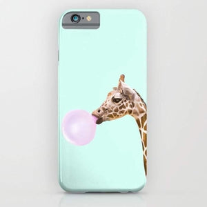 Giraffe Mobile Cover - Intrepid Soul