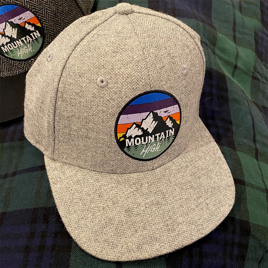 Mountain High™ Herringbone 6- Panel Cap