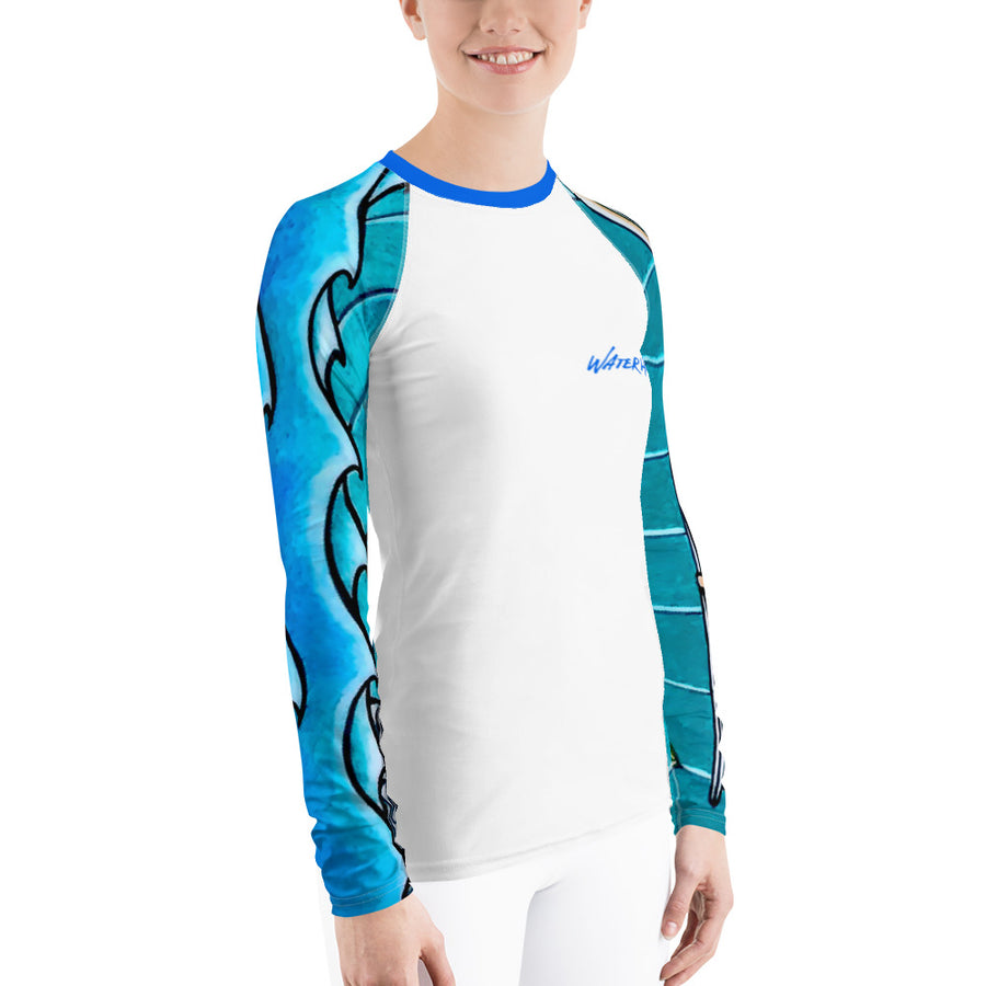 Wave Girl Signature Ladies Rash Guard