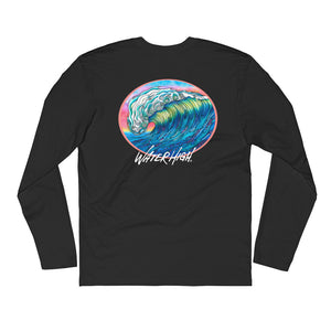 Big Wave Long Sleeve Fitted Crew Unisex