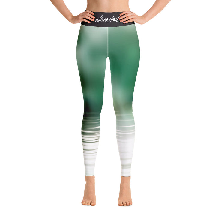 Pond Zen Yoga Leggings