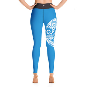 Fish Medallion Yoga Leggings