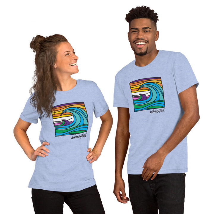 WaterHigh Wave Short-Sleeve Unisex T-Shirt