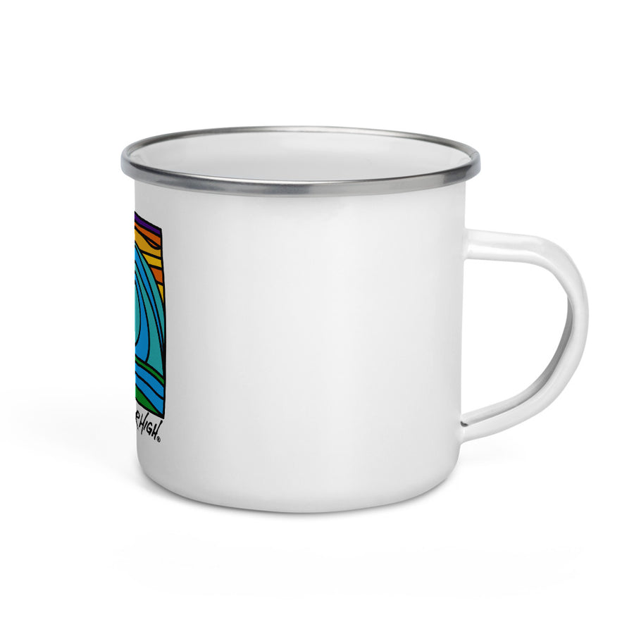 WaterHigh Wave Enamel Mug