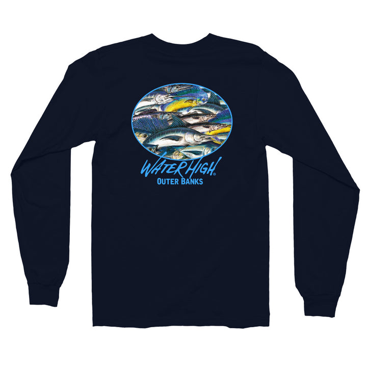 Outer Banks Sport Fish Long sleeve t-shirt