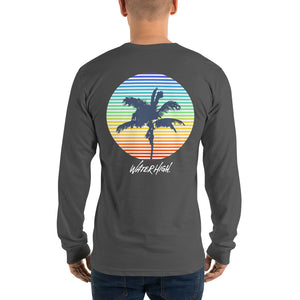 Palm Prism Long sleeve t-shirt Unisex