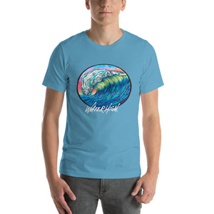 Big Wave Short-Sleeve Unisex T-Shirt Signature