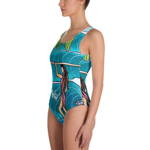 SURFER GURL One-Piece Swimsuit SIGNATURE Ladies