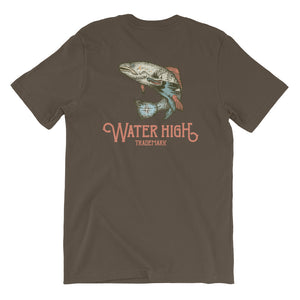 Fish Compass Short-Sleeve Unisex T-Shirt