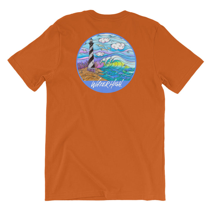 Hatteras Waves Short-Sleeve Unisex T-Shirt Signature