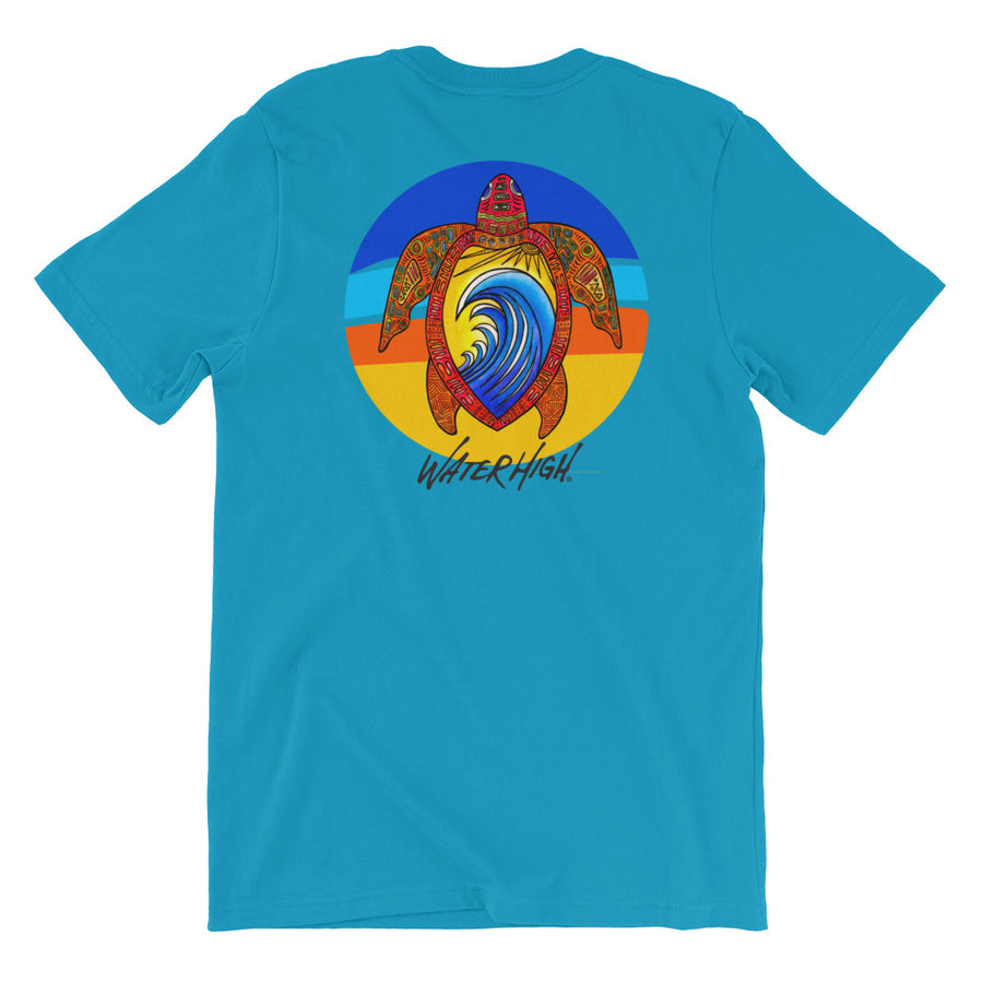 Turtle High Short-Sleeve Unisex T-Shirt