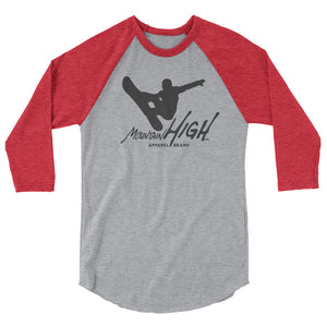 Mountain Air 3/4 sleeve raglan shirt