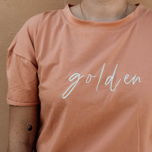 Load image into Gallery viewer, GOLDEN Signature Tee - Burnt Orange