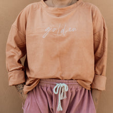 Load image into Gallery viewer, GOLDEN Signature Terry Crewneck - Marmalade