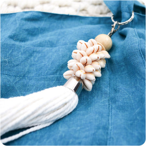 Seashell Stack Keyring