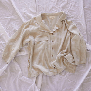 Oatmeal Lounge Shirt