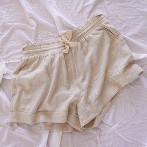 Oatmeal Lounge Shorts