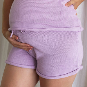 Bubblegum Summer Knit Shorts