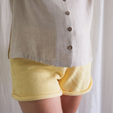 Load image into Gallery viewer, Lemon Summer Knit Shorts