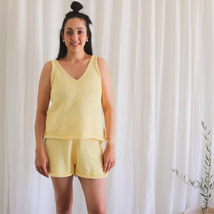 Lemon Summer Knit Set