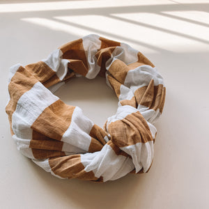 Latte Linen Headwrap