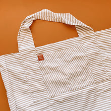 Load image into Gallery viewer, Sand Dunes Linen Tote