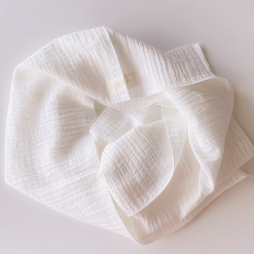 WHITEHAVEN Linen Headwrap