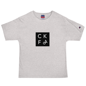 CKF + Champion CKF Box Logo T-Shirt
