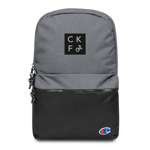 CKF + Champion CKF Box Logo Embroidered Backpack