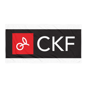 CKF Logo Beach Towel