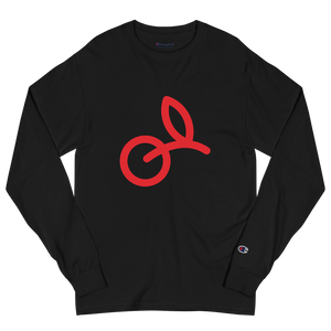CKF + Champion Big Cherry Logo Long Sleeve Shirt