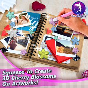 ArtsNCrafts 3D Cherry Blossoms Pen
