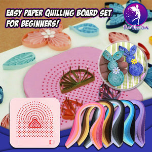 Pin&Wind Paper Quiller Board