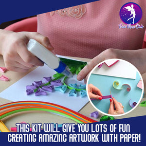 DIY Paper Craft Quill Art Kit