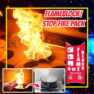 FlameBlock! Stop Fire Pack
