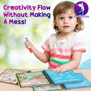 Infinity Water Art Magic Painting Book