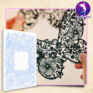 Cut N' Craft Paper-Cutting Book Set