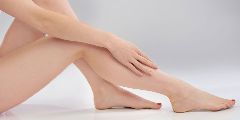 How do you perform laser hair removal on your legs?