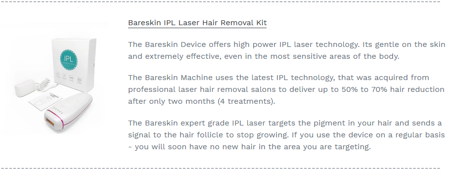 Bareskin - BUY NOW