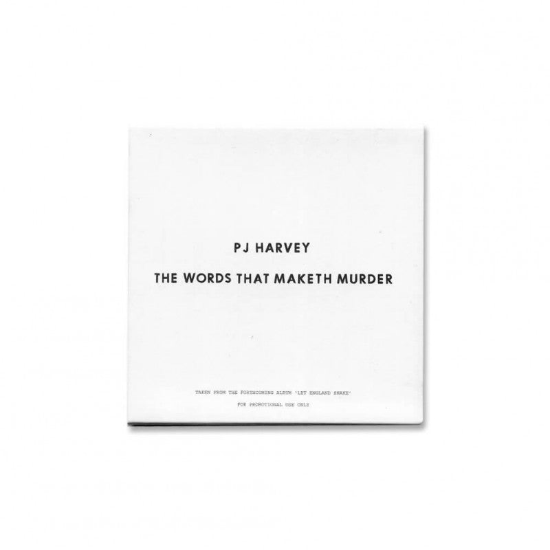 The Words That Maketh Murder (Promo CD)