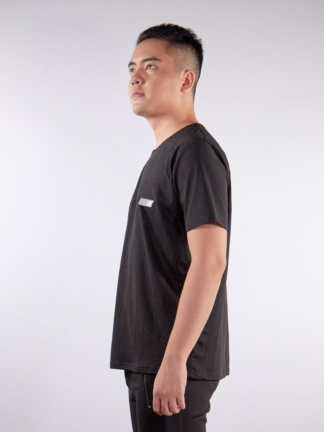 Unisex Ultimate Utilitarian Black Male T-shirt