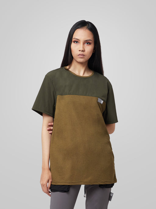 Unisex Ultimate Utilitarian Army Female T-shirt