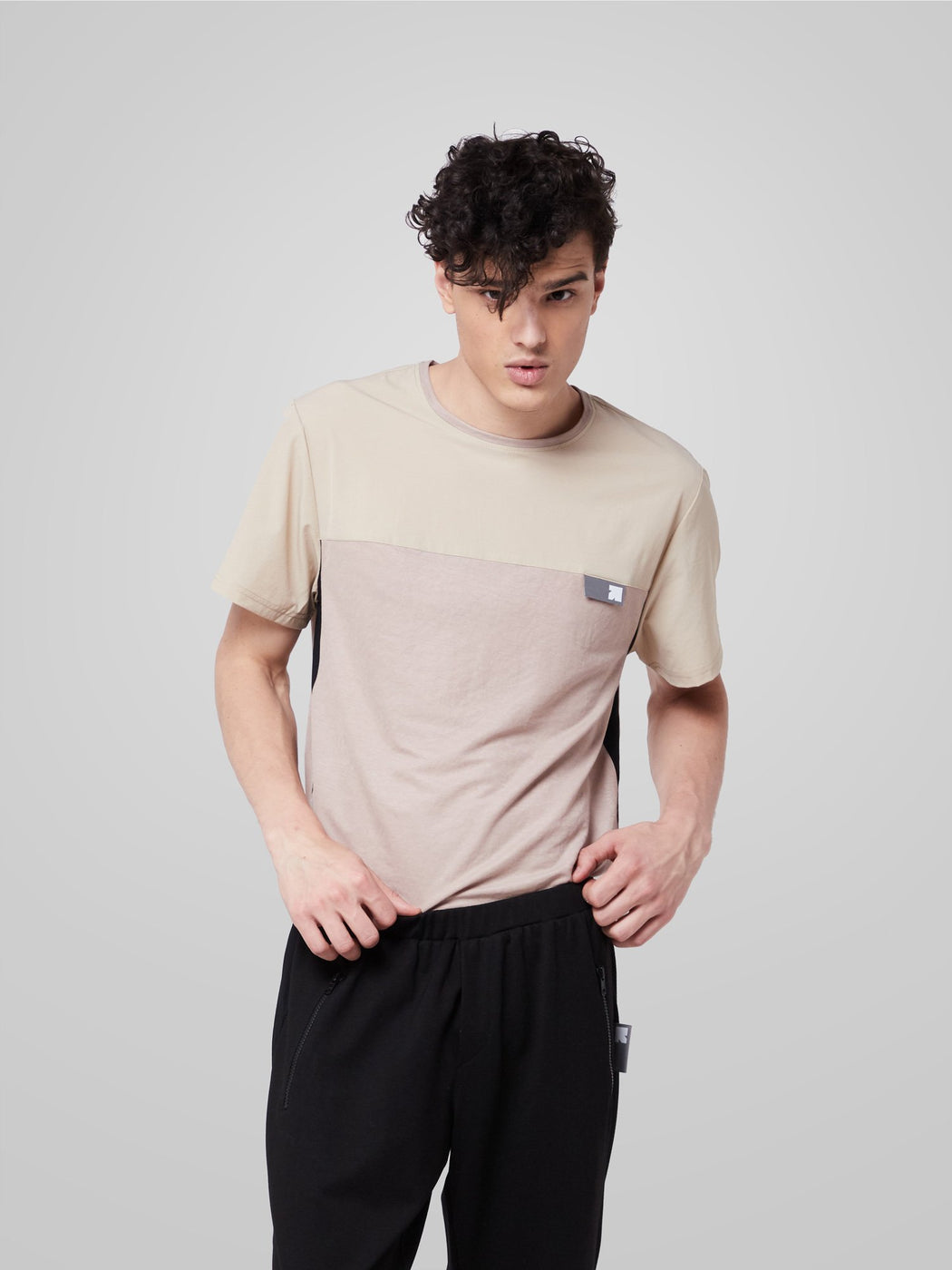 Unisex Ultimate Utilitarian Beige Male T-shirt